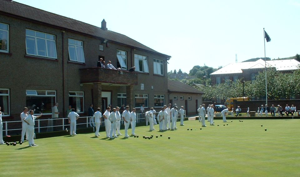 View of Vale Bowling Green from Balcony