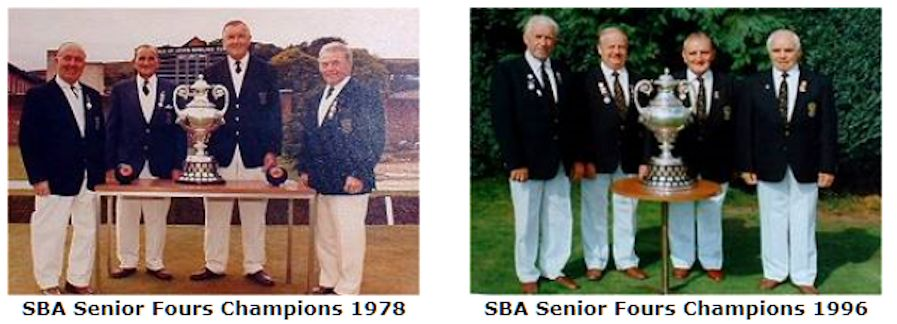 Scottish Bowling Championships Senior Fours Winners